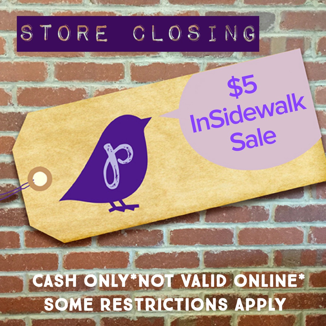 Plum Consignment Store Closing $10 Sidewalk Sale