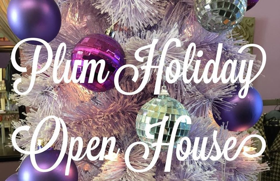 Holiday Farewelcome ~ Plum Consignment Open House 12/7 3pm-6pm