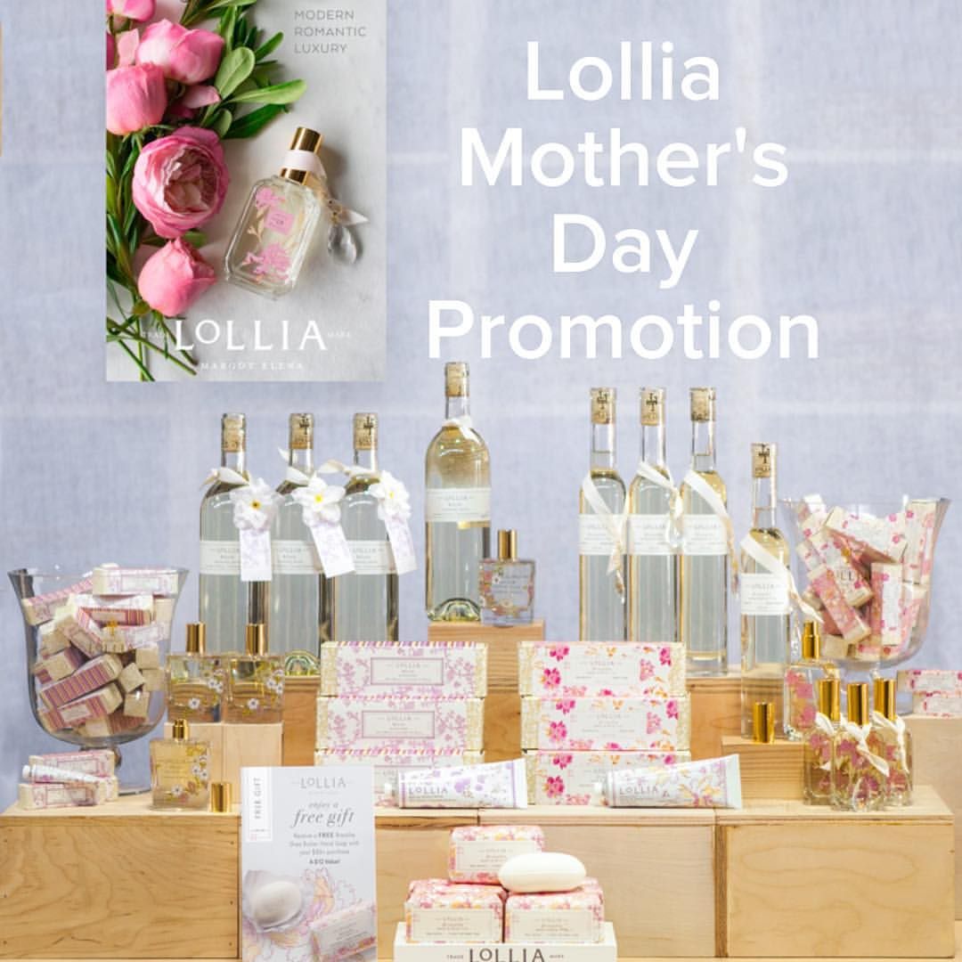 Lollia Mother's Day Promotion!