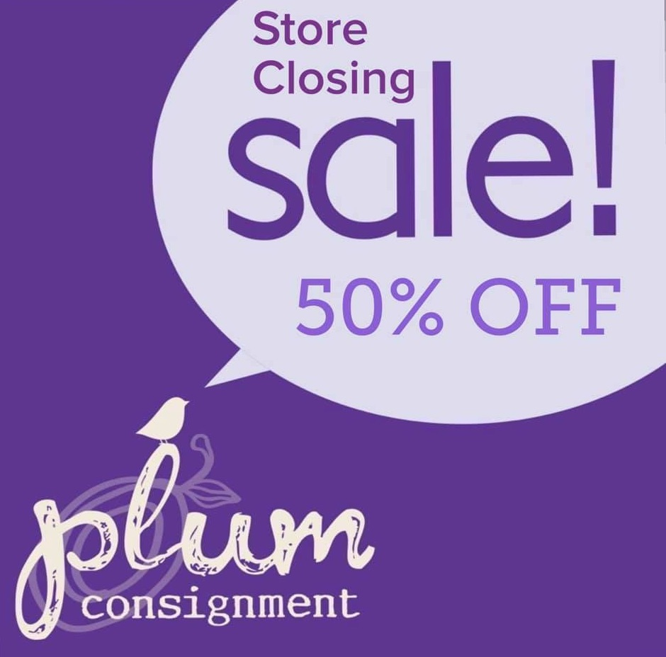 50% off Store Closing Sale